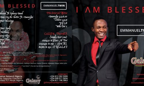 I am Blessed Album By EmmyTwin